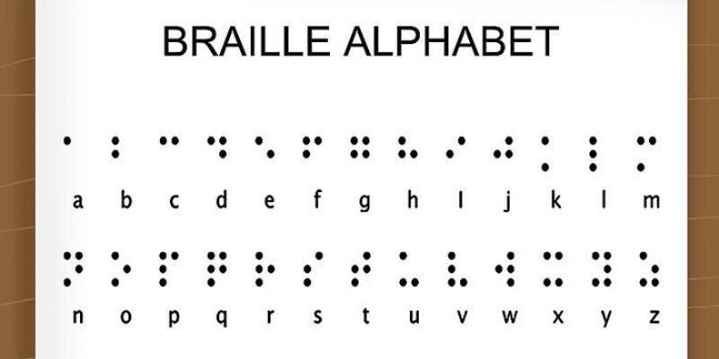 Braille alfabesi nedir?